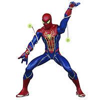 Большой Человек-Паук стреляющий световой паутиной и светящийся в темноте от Hasbro серия Marvel