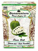 """Зелений чай """"Sour Sop"""" (Саусеп) - Bonaventure (100 гр.)"""
