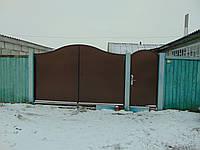 Ворота кованые В-71, фото 1