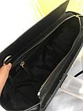 Сумка Майкл Корс Michael Kors Selma 28 і 32 см, натуральна шкіра, колір чорний, фото 3