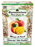 """Зелений чай """"Mango & Peach"""" (Манго і Персик) - Bonaventure (100 гр.)"""