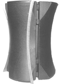 Фрези цилиндричиские з механічним кріпленням ножів швидкозмінних