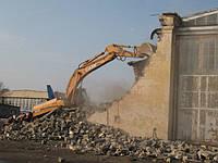 Демонтаж (снос) зданий