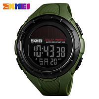 Мужские водонепроницаемые часы SKMEI 1405 (на солнечной батарее)