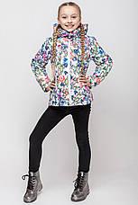Детская демисезонная куртка для девочки VKD-4, 110-140, фото 3