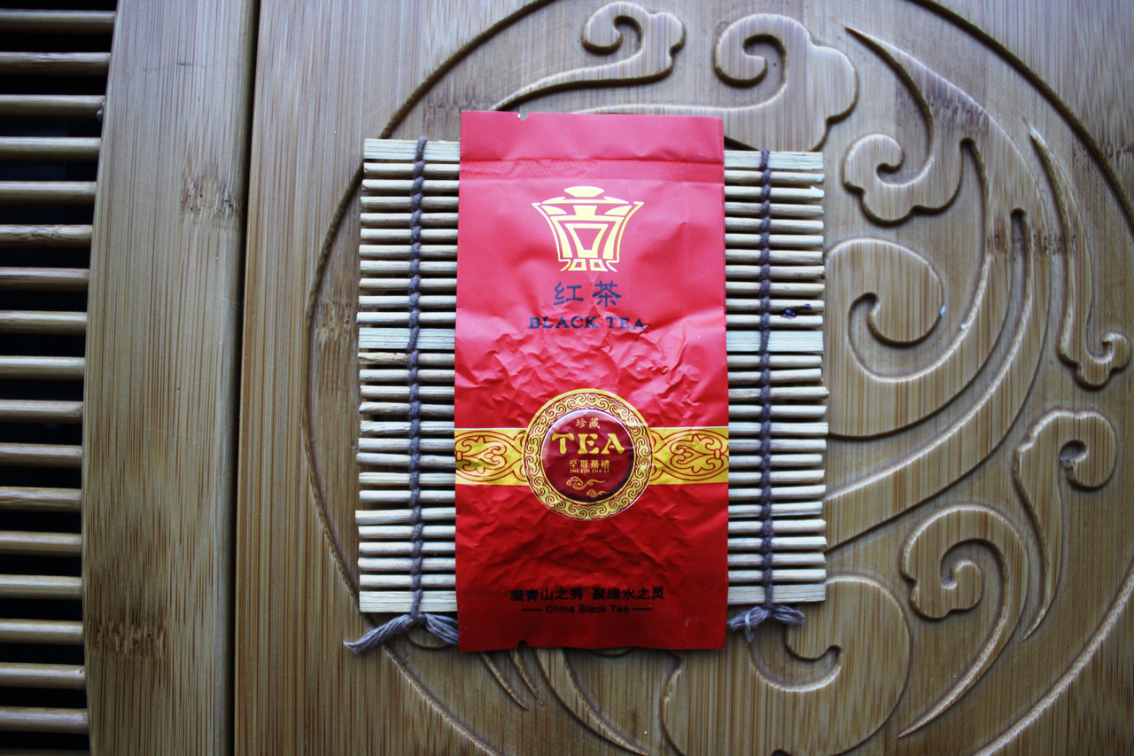 Порционный черный/красный чай с натуральным бергамотом, 10 шт по 5 г