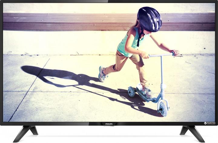 Телевизор Philips 32PHT4112/12 (PPI 200Гц, HD, Digital Crystal Clear, DVB-С/T2)