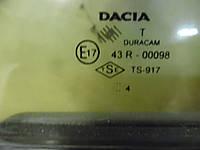 Форточка двери зад. правой (Хечбек) Dacia Solenza 03-05 (Дачя Соленза), 6001547867