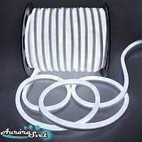 Гнучкий LED неон білий 220 В захист IP67. Світлодіодна гірлянда. Гірлянда LED.