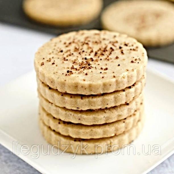 Печиво пісочне з корицею для брендування та декорування [коло з рифленим краєм]