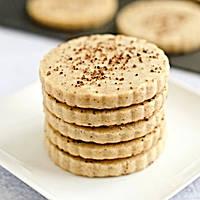 Печиво пісочне з корицею для брендування та декорування [коло з рифленим краєм], фото 1