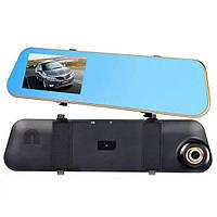3 в 1, Зеркало, видеорегистратор Т1, камера заднего вида 4,3 дюйма, Vehicle Blackbox T1
