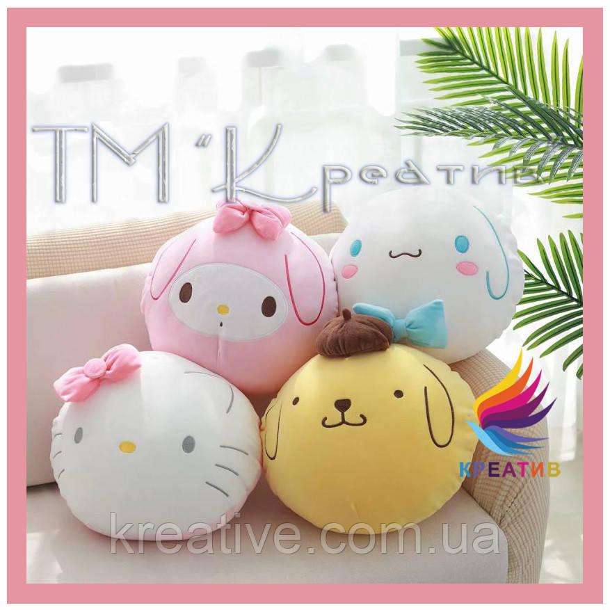 Подушка игрушка оптом под заказ с Вашим логотипом (от 100 шт)