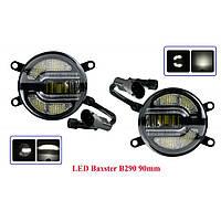 Светодиодные (LED) противотуманные фары Baxster B290 90mm c ДХО