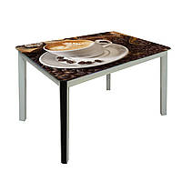 Обеденный стол Престиж на металлических опорах