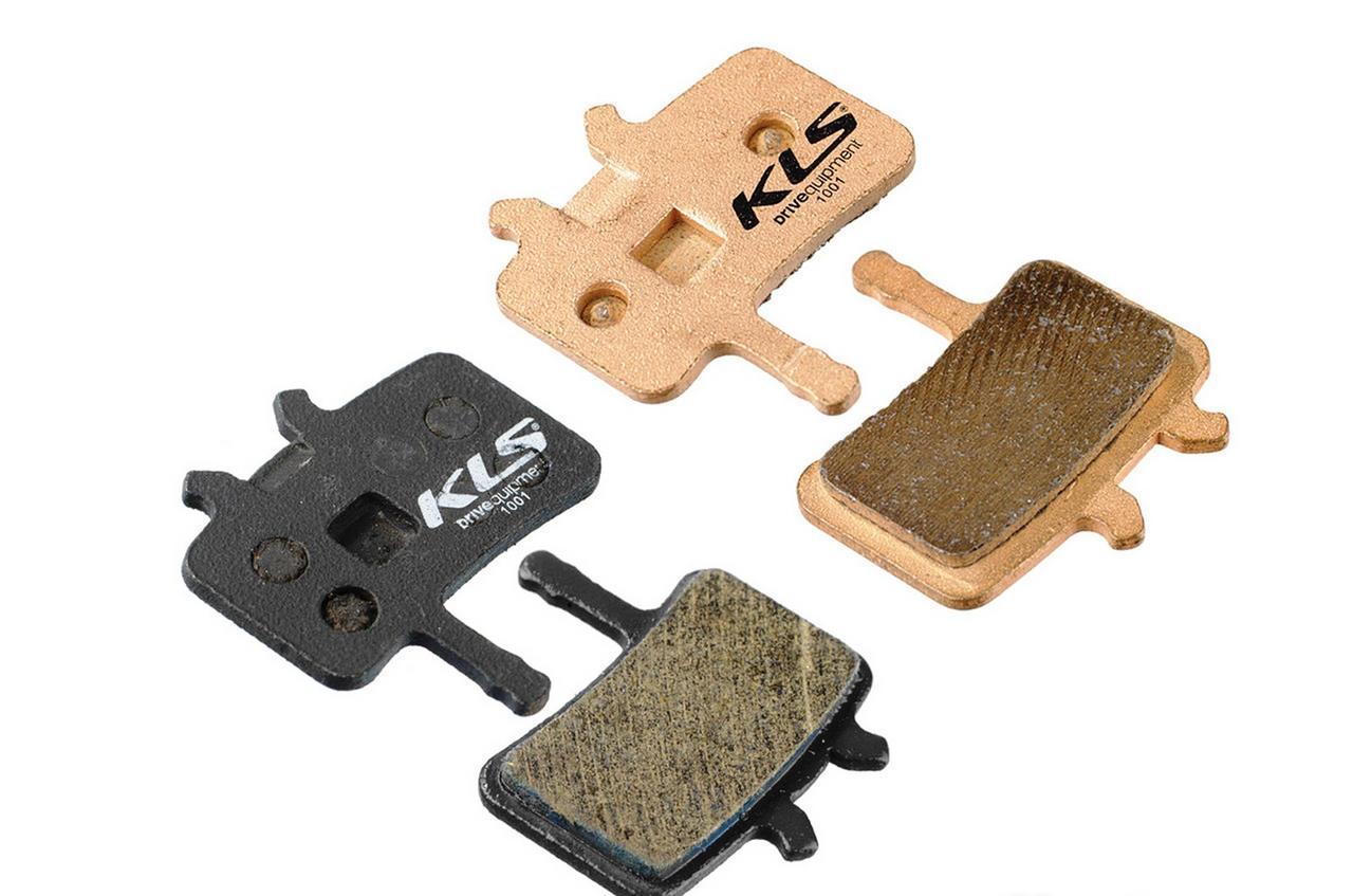 Колодки гальмівні KLS D-02 для Avid Juicy органіка