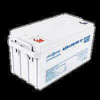 Аккумулятор для ИБП мультигелевый AGM LogicPower LPM-MG 12 - 65 AH, фото 1