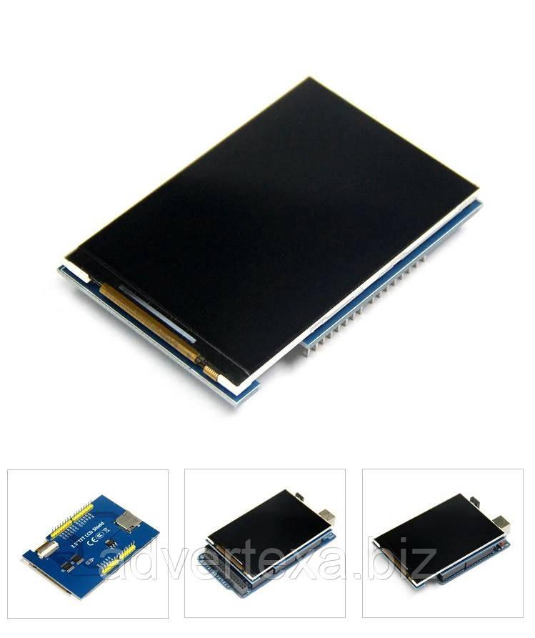 Дисплей TFT LCD 3.5 дюйма для для Arduino Uno
