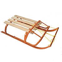 Санки для ребенка с веревкой и складной спинкой, фото 1