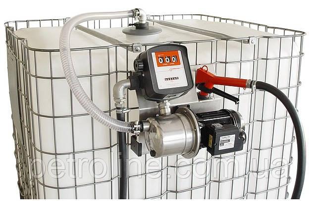 Комплект для перекачки жидкости Adblue SAD-200M,  для 200-литровой бочки, фото 1