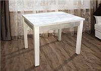 Стол обеденный МАРСЕЛЬ 90(+35+35)х70 белый/ Урбан Лайт