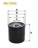 Фильтр масляный Skoda, Audi, Volkswagen Wix WL7503