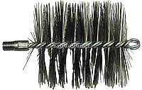 Щетка 100мм металлическая для чистки котла люкс