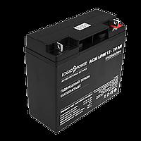 Аккумулятор кислотный AGM LogicPower LPM 12 - 20 AH, фото 1