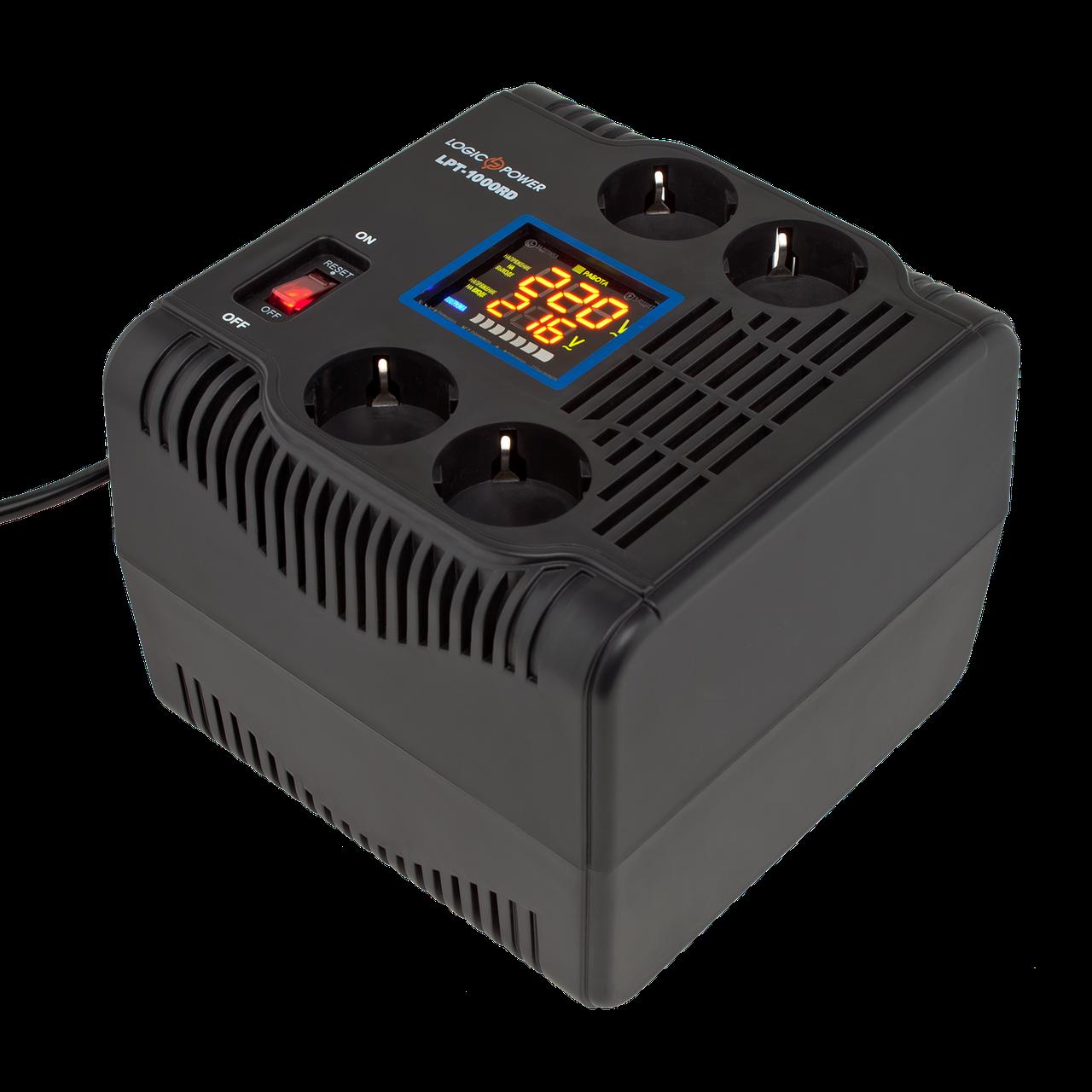 Стабилизатор напряжения LogicPower LPT-1000RD (700W)