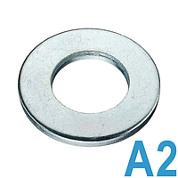 Шайба плоская нержавеющая М2,5 DIN 125