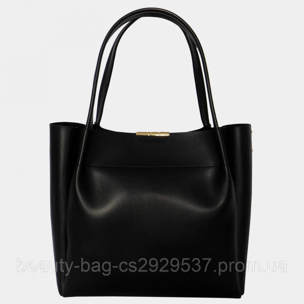 Сумка женская эко-кожа B.Elit 0776 Black черная