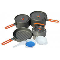 Набор посуды для 4-5 чел. Fire-Maple Feast 4 серого цвета