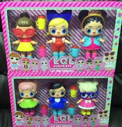 Кукла L.O.L.БОЛЬШАЯ КУКЛА 3 шт, 77705В, фото 2