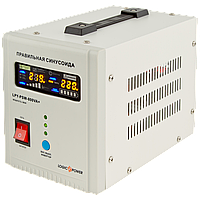 ИБП с правильной синусоидой LogicPower LPY-PSW-800VA+(560W)5A/15A 12V для котлов и аварийного освещения, фото 1