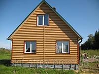 Металлосайдинг Блок-хаус, сайдинг металлический Бревно, Блок-хаус металлический Запорожье, фото 8