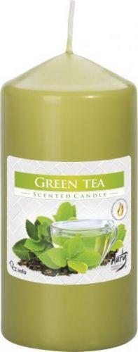 Свічки стовпчики Арома Зелений чай Bispol
