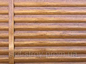Металлосайдинг Блок-хаус, сайдинг металлический Бревно, Блок-хаус металлический Запорожье