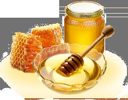 Мед натуральный с подсолнуха 0,346л 2018 года,Галетте -  06504