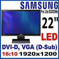 """Монитор 24"""" Samsung LS24A450/1920x1200(к.3927)"""