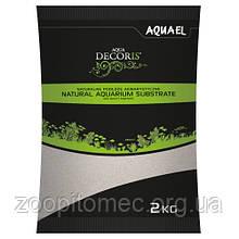 Грунт пісок кварцовий Aquael (Акваэль) 0,1-0,3 мм, 2 кг