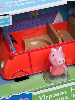 Игровой набор Peppa - МАШИНА ПЕППЫ (машинка, фигурка Пеппы), фото 3