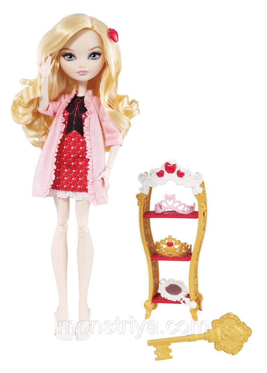 Ever After High Getting Fairest Apple White Doll  Кукла Эвер Афтер Хай Эппл Вайт Пижамная серия