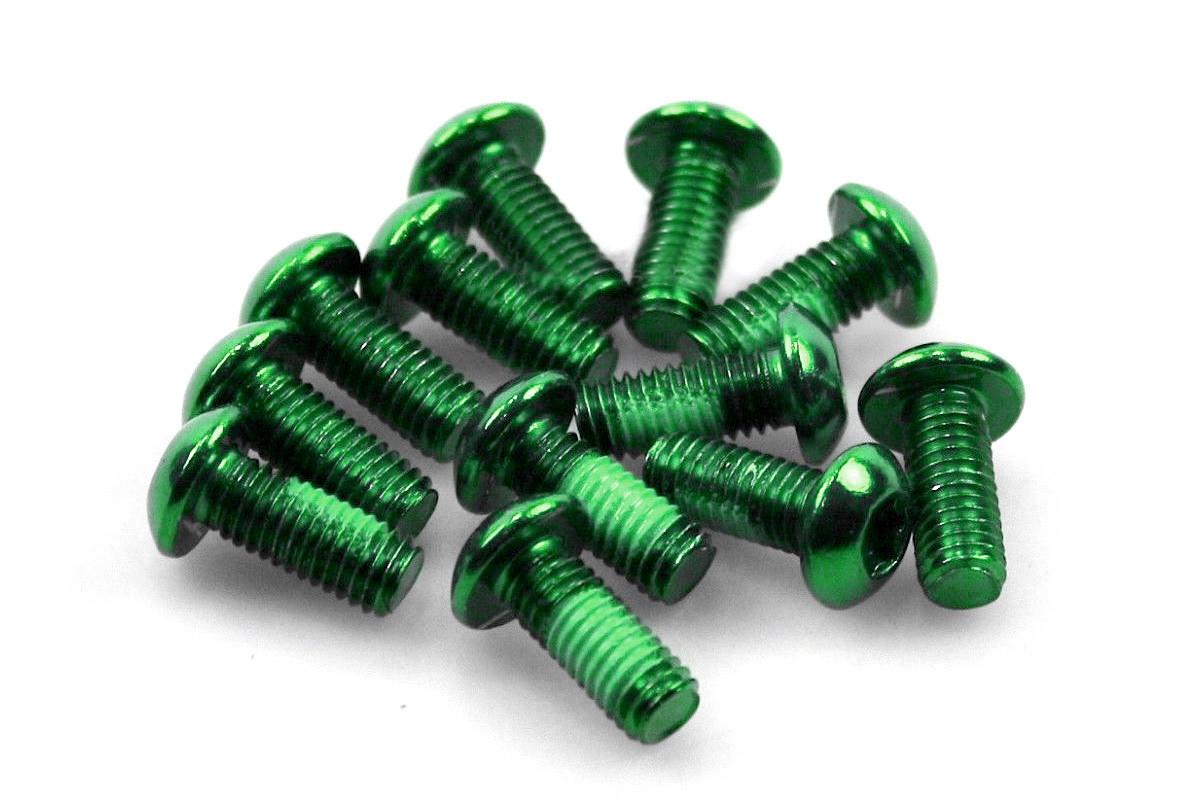 Болты для роторов, Alligator, зеленые (12 шт)