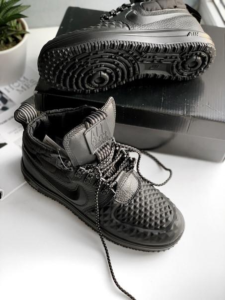 14e57cb7e6bd Женские черные кроссовки Nike Lunar Force 1 Duckboot  17 Black   Black-Anthracite