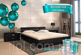 Кровать деревянная двуспальная Дали