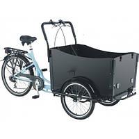 Велосипед VEGA Riksha-1 Ящик для перевозки пассажиров или грузов, мягкие сиденья, тент от дождя
