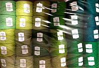 Акриловая нить для вышивки Набор акриловой нити (зелёный оттенок)