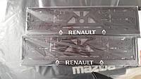 3D-рамки для номерных знаков Renault
