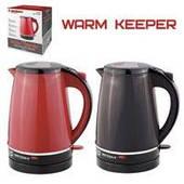 Чайник электрический Warm keeper 1.8л 1850w 10184 (12шт)