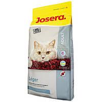 Корм для котов Josera Léger 10 кг, корм для малоактивных и склонных к полноте котов и кошек